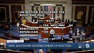 House approves short-term spending bill to avoid government shutdown
