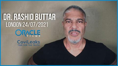 Dr. Rashid Buttar | Worldwide Rally for Freedom London 24/07/21 | Oracle Films | CoviLeaks