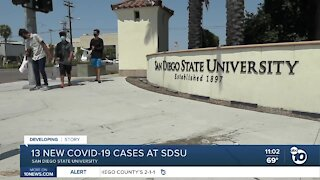 SDSU reports more new COVID-19 cases