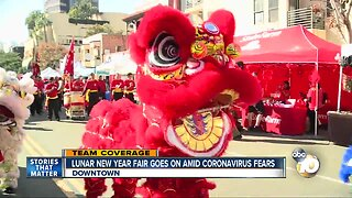 Chinese New Year Fair goes on amid Coronavirus concerns