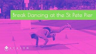 Break Dancing at the St Pete Pier