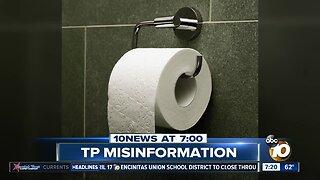 Coronavirus spread through toilet paper?