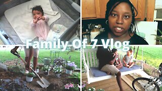 Family Of 7 Vlog | Never Stop Learning