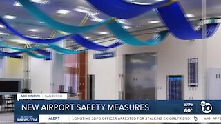 New airport safety measures
