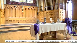 Churches prepare for safe services with hymnals, hand sanitizer
