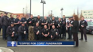 Local woman comps first responders coffee