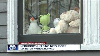 Neighbors helping neighbors feel connected