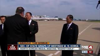 U.S. Secretary of State meets with North Korea leaders