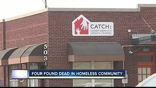Four found dead in homeless community