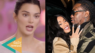 Kendall Jenner TROLLED For ACNE Insecurities! Cardi B Demands LOYALTY From Offset!   DR