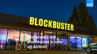 The world's last Blockbuster is now on Airbnb!