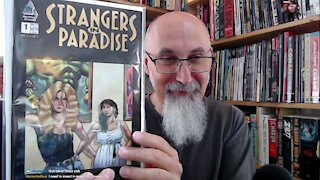 Comic Book Haul #49: Modern CGC Graded, Terry Moore's Strangers in Paradise, Unboxing (16:49) [ASMR]