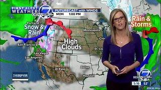 Warm temperatures stick around Denver the next few days