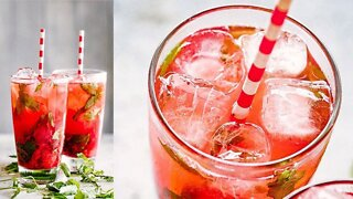 (S1E11) Strawberry Pomegranate Mojito