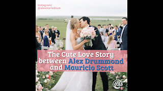 The Cute Love Story between Alex Drummond and Mauricio Scott