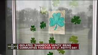 Isolated 'Shamrock Hunts' bring communities together during uncertain times