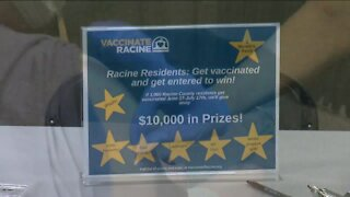 Racine offering prizes to increase vaccinations