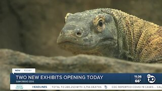 Two new exhibits open at San Diego Zoo