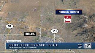 Police shooting in Scottsdale