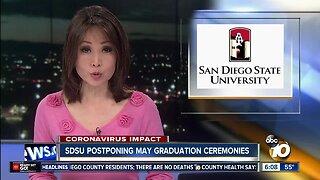 SDSU postponing May graduation ceremonies