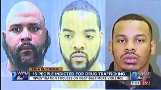 16 people indicted for drug trafficking