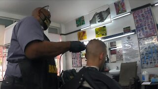 Cleveland barbershop hosts COVID-19 vaccination clinics to reach minority communities