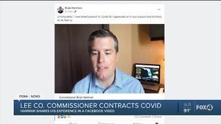 Lee County Commissioner tests positive for COVID-19