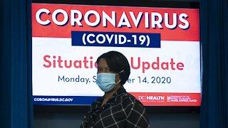 Washington D.C. Reports Largest Spike In Coronavirus Cases Since June