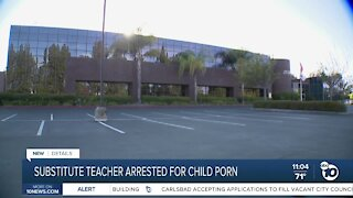 Local substitute teacher arrested for child porn