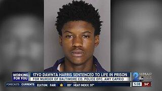 Dawnta Harris sentenced to life for murder of Baltimore County officer