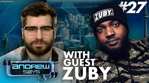 Zuby should not be able to compete against women | Andrew Says #27