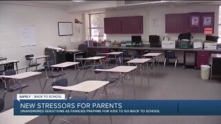 How parents can deal with the stress of possibly sending kids back to school