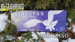 Wingspan: European Expansion Unboxing