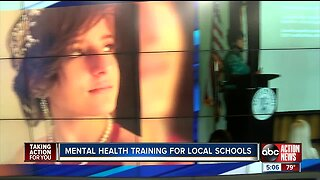 Mental health training for local schools