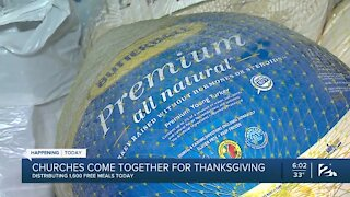 Tulsa Churches Come Together to Feed Families for Thanksgiving