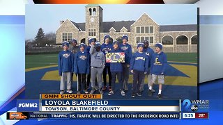 Good morning from Loyola Blakefield!