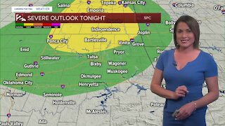 From Sweltering to Stormy for Friday