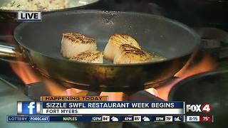 Sizzle SWFL Restaurant Week begins