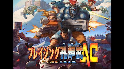 Blazing Chrome AC Official Trailer
