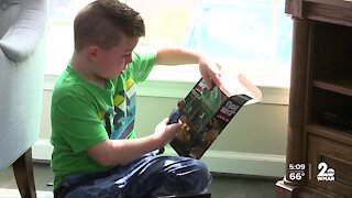 Anne Arundel County boy shares life living with rare condition