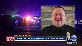 Manhunt underway for gunmen who shot Cherry Hills Village police officer