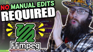 ONE script does ALL of my video editing with ffmpeg