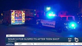 Teen boy shot outside National City apartment