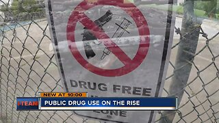 Milwaukee drug overdoses spilling into the public