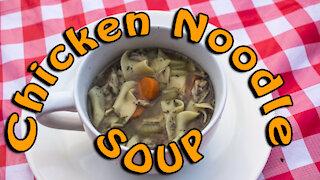 Dutch Oven Chicken Noodle Soup