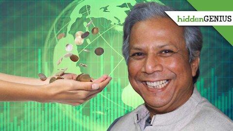Stuff of Genius: Muhammad Yunus: Microloans