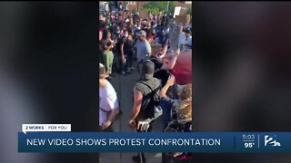 New video shows protests confrontation in Tulsa highway