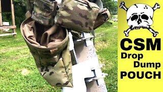 One Serious DUMP... Pouch | CSM Tactical Gear Drop Pouch - Minidrop & Regular Review