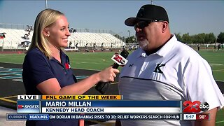 Game of the Week: Live interview with Coach Millan