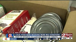 Local food banks seeing effects of trade tariffs